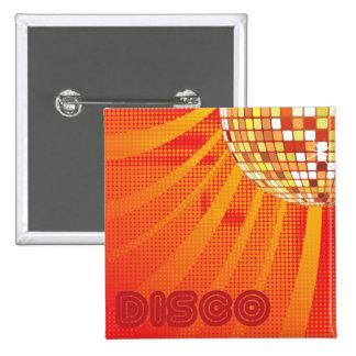Bola de discoteca de los años 80 80s del ~ del pin cuadrado