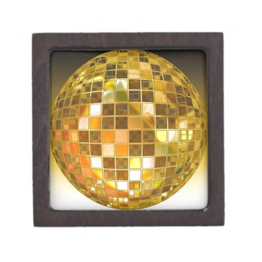Bola de discoteca de oro cajas de regalo de calidad