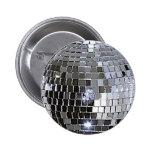 Bola de discoteca de plata pins