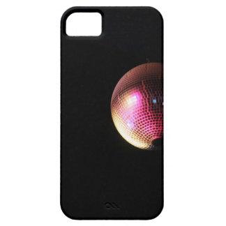 Bola de discoteca en sitio oscuro funda para iPhone SE/5/5s