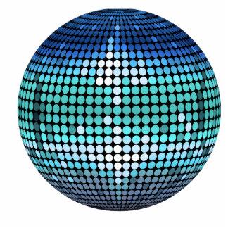 Bola de discoteca esculturas fotograficas