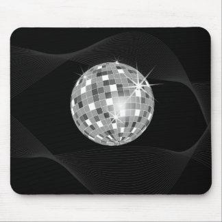 Bola de discoteca maravillosa alfombrilla de ratones
