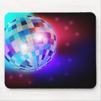 Bola de discoteca mouse pad