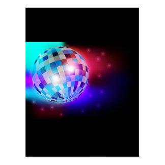Bola de discoteca postal