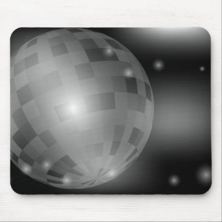 Bola de discoteca tapete de raton
