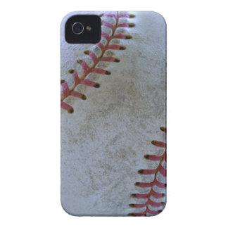 bola de Fan-tastic_battered del béisbol iPhone 4 Case-Mate Carcasa