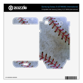 Bola de Fan-tastic_battered del béisbol Samsung Galaxy S Skins