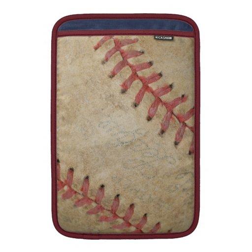 Bola de Fan-tastic_Dirty del béisbol Fundas Macbook Air