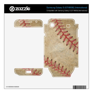 Bola de Fan-tastic_dirty del béisbol Samsung Galaxy S Calcomanía