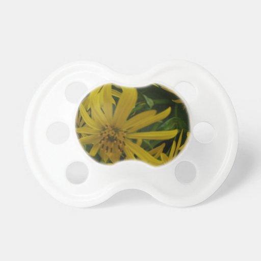 bola de flores chupetes de bebe