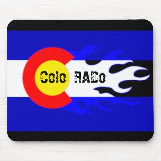Bola de fuego de Colorado Tapetes De Ratón