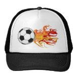 Bola de fuego de fútbol gorro de camionero