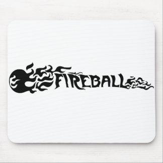 Bola de fuego tapete de ratón