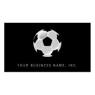 Bola de Futbol del fútbol del fútbol Tarjetas De Visita