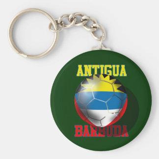 Bola de la bandera de los amantes del fútbol de llavero redondo tipo pin