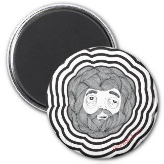 Bola de la barba iman de nevera
