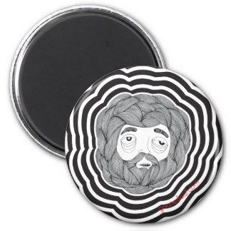 Bola de la barba imanes para frigoríficos