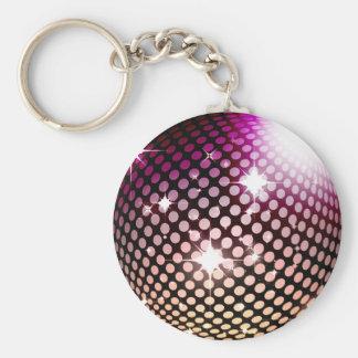 bola de la ciudad del disco llavero redondo tipo pin