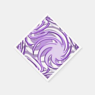 Bola de la lila servilleta de papel