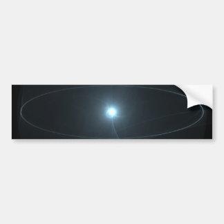 Bola de la luz pegatina para auto