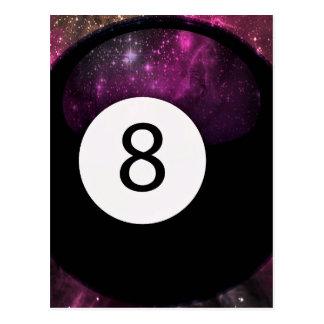 Bola de la magia 8 tarjeta postal