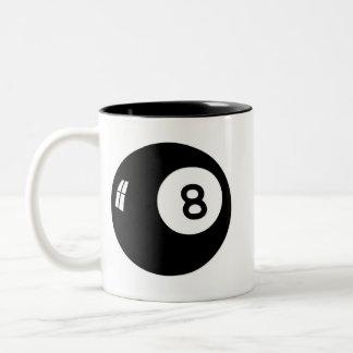Bola de la magia 8 taza de dos tonos