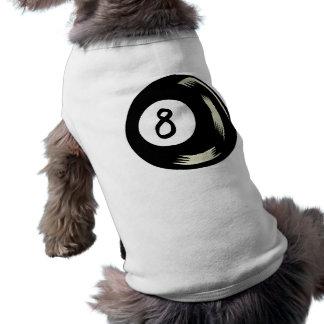 Bola de la magia ocho camiseta de perro