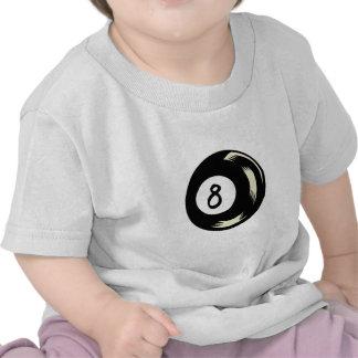 Bola de la magia ocho camisetas