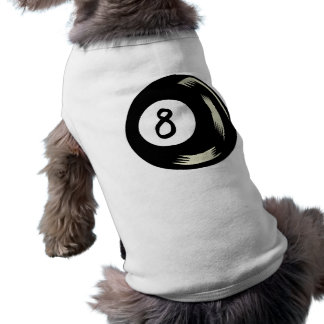 Bola de la magia ocho playera sin mangas para perro