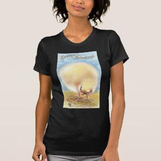 Bola de la postal de Pascua del vintage del Camiseta