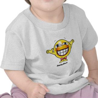 Bola de la sonrisa camiseta