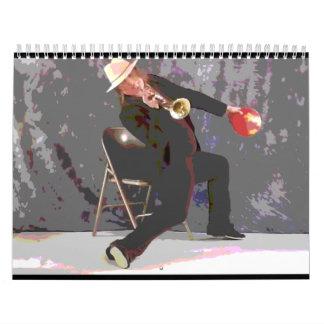 Bola de la trompeta [diseño alterno 3] calendario
