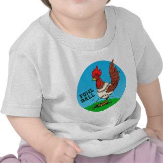 Bola de las aves camiseta
