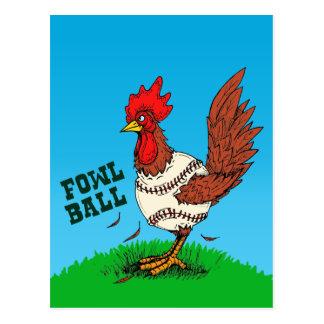Bola de las aves postal
