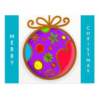 Bola de las Felices Navidad Tarjetas Postales