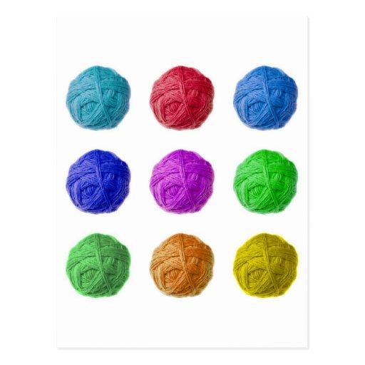 bola de las lanas postales