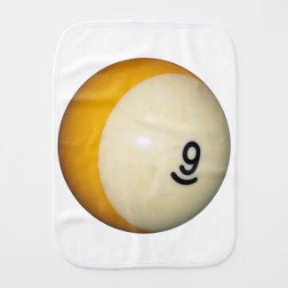 Bola de los billares 9 paños para bebé