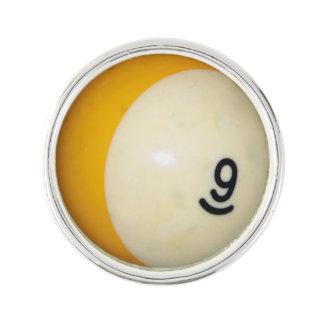 Bola de los billares 9 pin