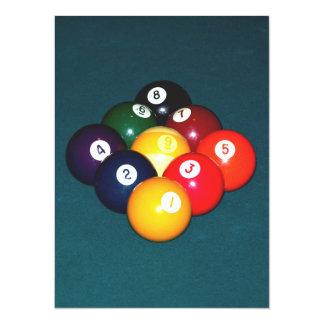 Bola de los billares nueve comunicado personalizado