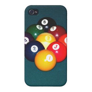 Bola de los billares nueve iPhone 4 fundas