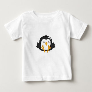 Bola de masa hervida del pingüino playera