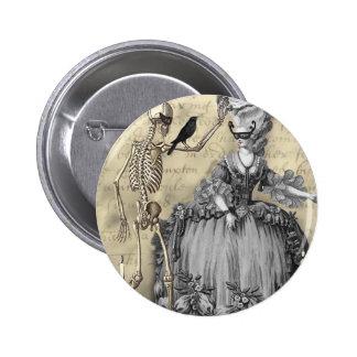 Bola de mascarada de Halloween Pin