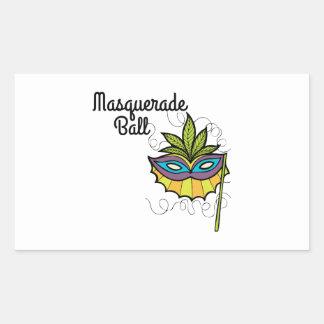 Bola de mascarada rectangular altavoz