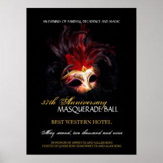 Bola de mascarada - poster