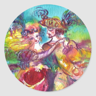 Bola de mascarada veneciana de la DANZA del CARNAV Etiquetas