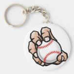 Bola de nudillo (béisbol) - llavero