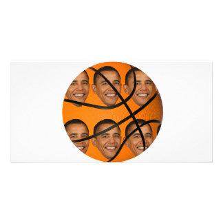 Bola de Obama Tarjetas Personales Con Fotos