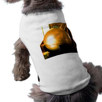 Bola de oro playera sin mangas para perro