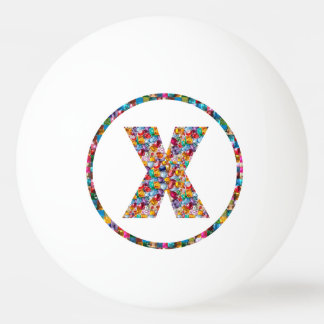 Bola de ping-pong 3* del ARTE XXX del ALFABETO del Pelota De Tenis De Mesa