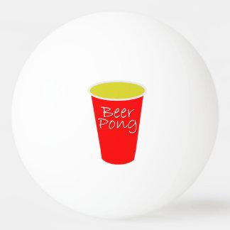 Bola de ping-pong de Pong de la cerveza Pelota De Tenis De Mesa